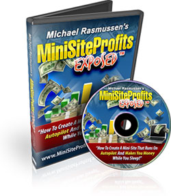 Mini Site Profits Exposed - FREE Video Course